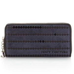 ⚡️NWT Juicy  Couture Navy Sequin Wallet